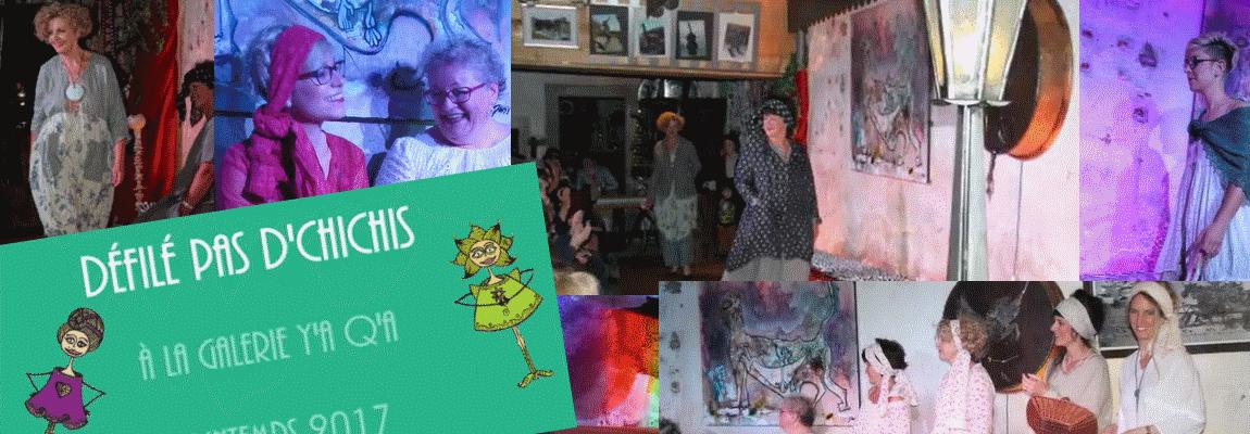 Défilé Printemps 2017 à la galerie Y'a Q'a